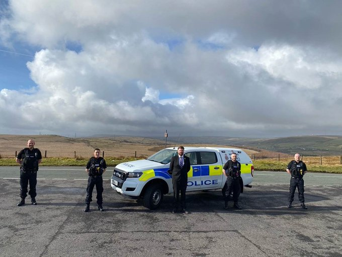 Deputy police commissioner meets with rural taskforce in Rossendale